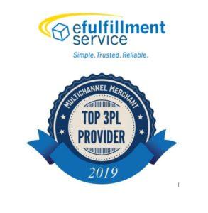 efulfillment service named 2019 top 3pl\u20144th time!