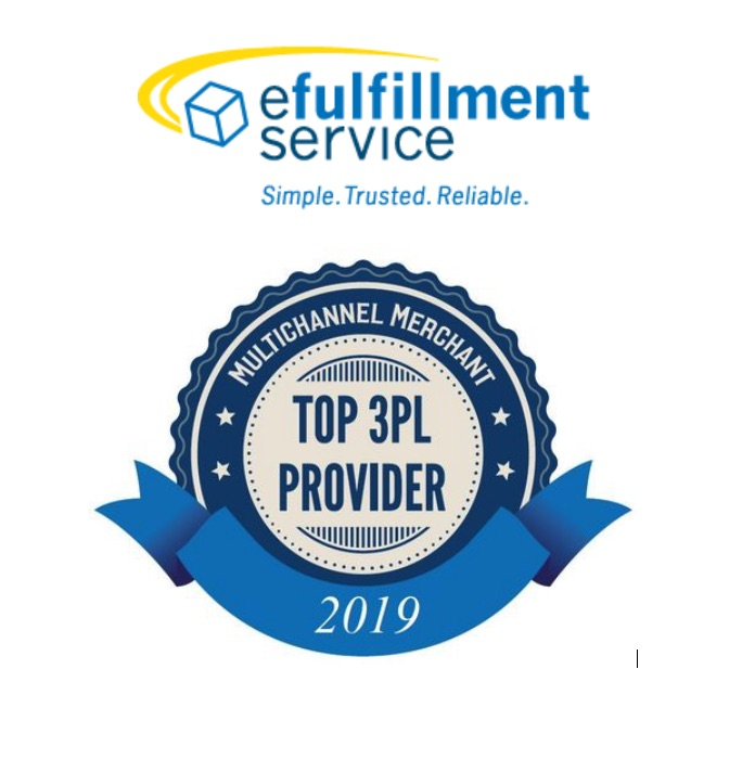 eFulfillment Service Named 2019 Top 3PL—4th Time!