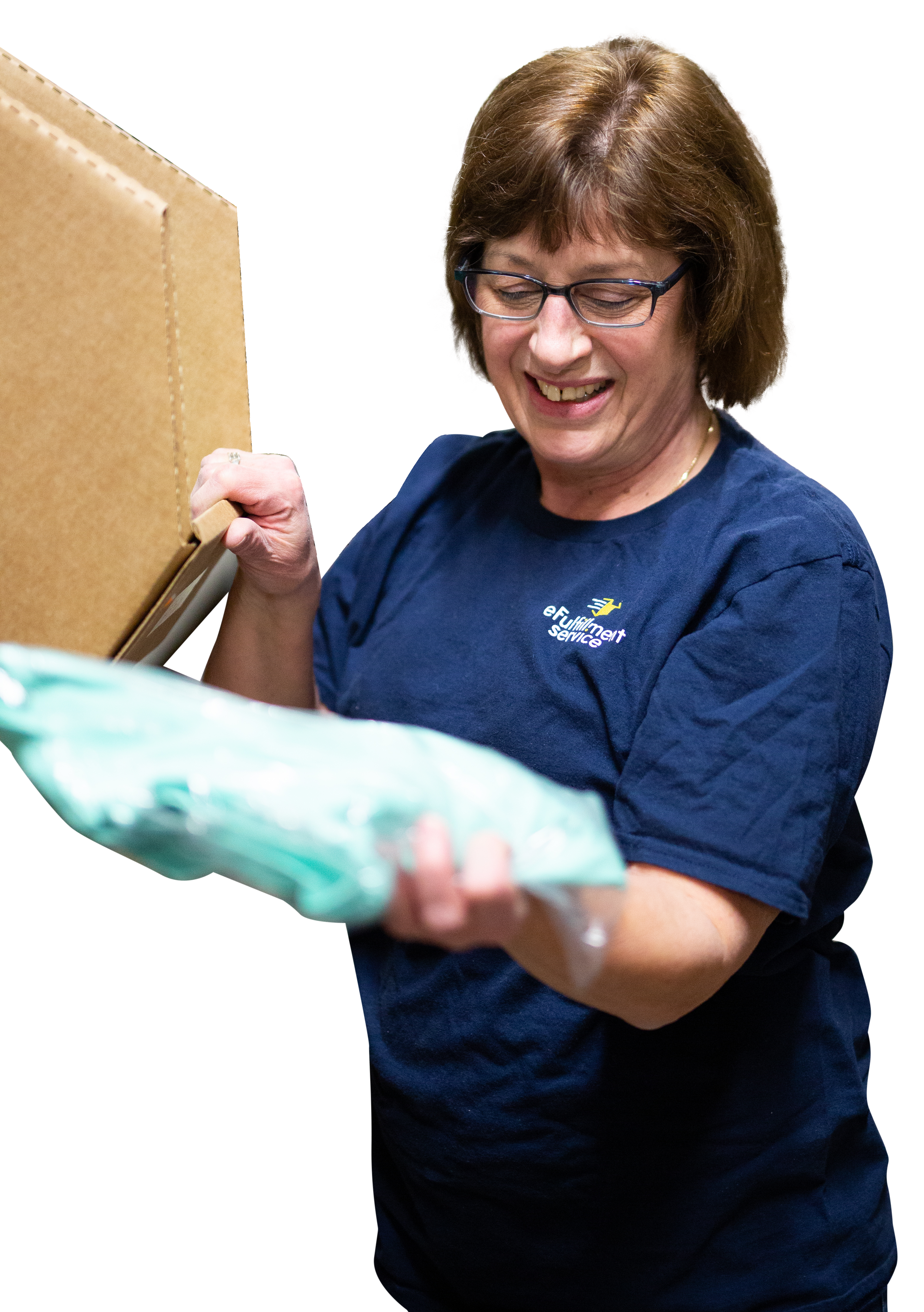 Efulfillment Service Employee Pick and Pack
