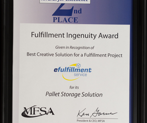 EFS Receives Fulfillment Ingenuity Award